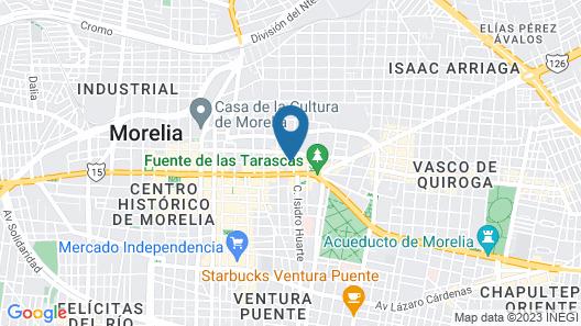 Portico Hotel Cultural Map