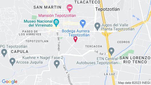 Posada Mayin - Adults only Map