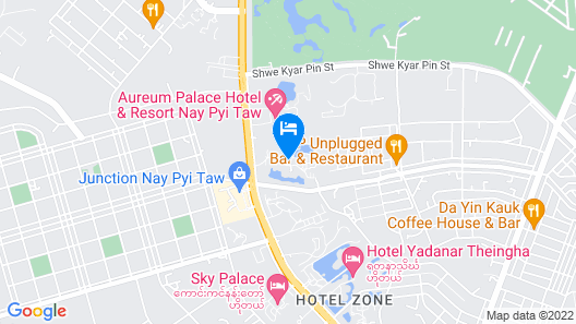 The Thingaha Nay Pyi Taw Map
