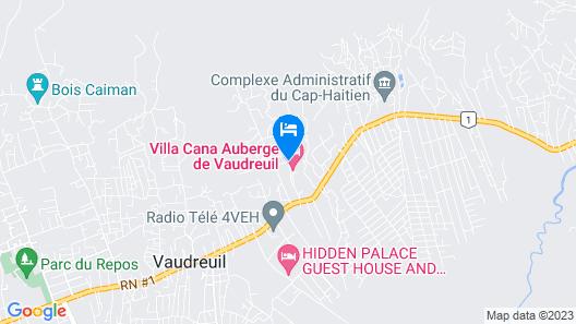 Auberge Villa Cana Map