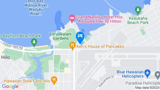 SCP Hilo Hotel Map