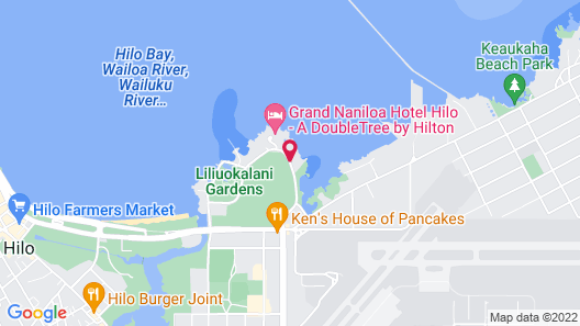 Hilo Reeds Bay Hotel Map