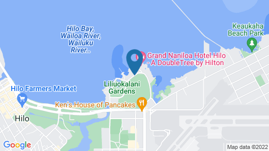 Castle Hilo Hawaiian Hotel Map