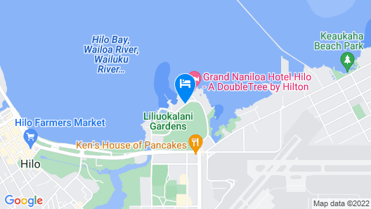 Castle Hilo Hawaiian Hotel Map