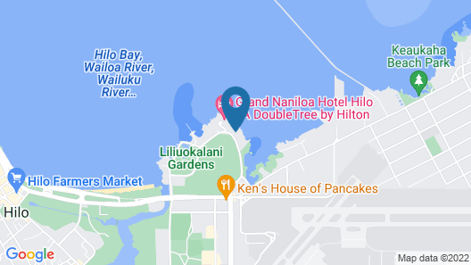Pagoda Hilo Bay Map