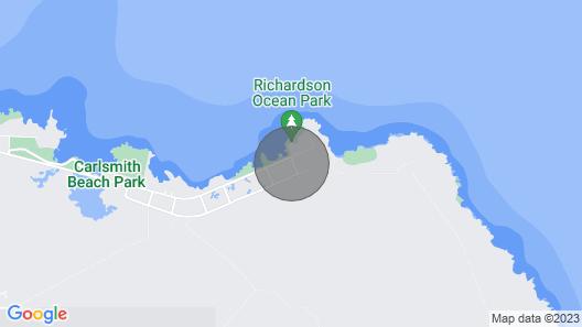 Best Hilo Location @ Richardsons Beach Park, Swimming, Snorkeling Sleeps 8-Save$ Map