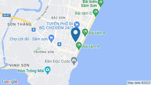 Hoang Thai Hotel Map