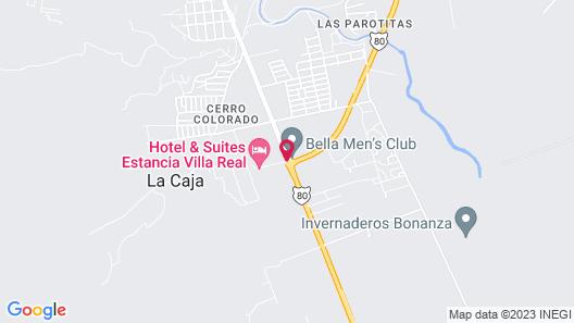 Estancia Villa Real Map