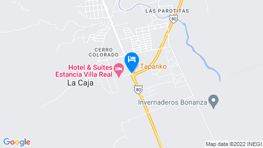 Estancia Villa Real Map