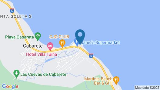Hotel El Magnifico Map