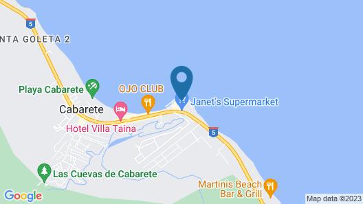 Velero Beach Resort Map