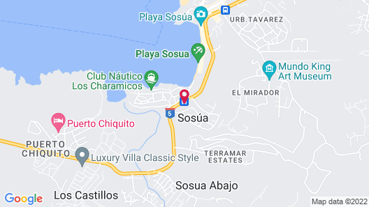 Sosua Bay Beach Resort Map