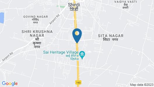 Hotel Pushpak Resort Map