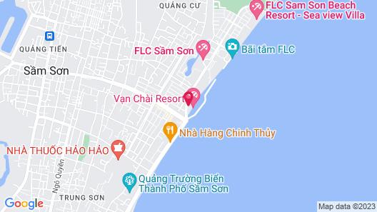Van Chai Resort Map
