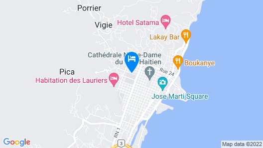 Le Paradis S. Hotel Map