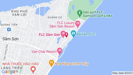 FLC Luxury Resort Samson Map