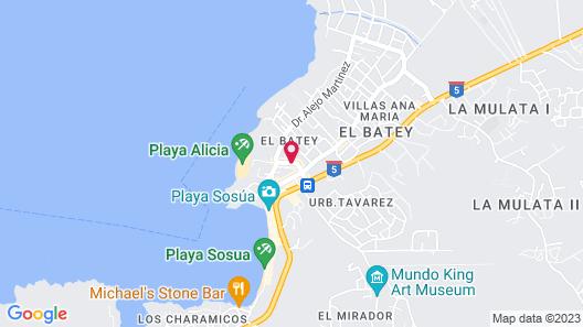 Casa Valeria Boutique Hotel Map