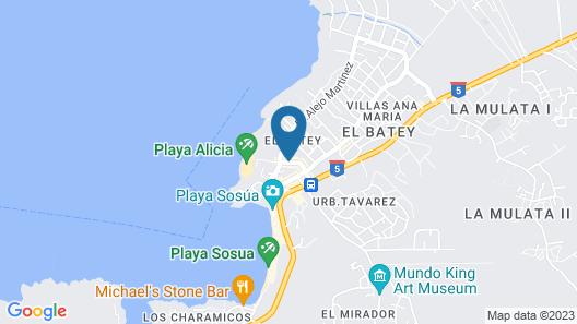 New Garden Hotel Map