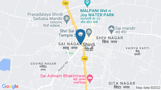 Hotel Kripa Sai Map