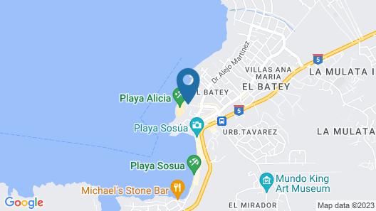 Las Terrazas Map