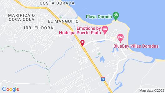Sunscape Puerto Plata Map