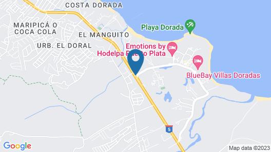 Sunscape Puerto Plata - All Inclusive Map