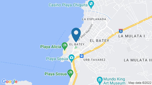 Hotel Don Andres Map