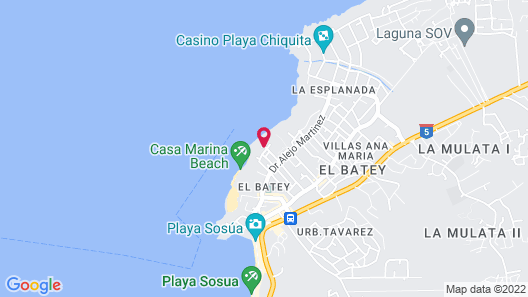 The Ocean Club, a Luxury Collection Resort, Costa Norte Map