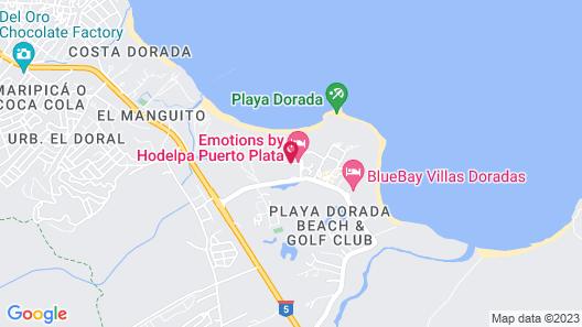 Emotions Puerto Plata Map