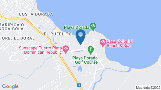 Emotions by Hodelpa - Playa Dorada Map