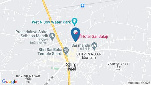 Hotel Ganpati Palace Map