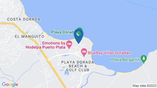 Grand Paradise Playa Dorada - All Inclusive Map