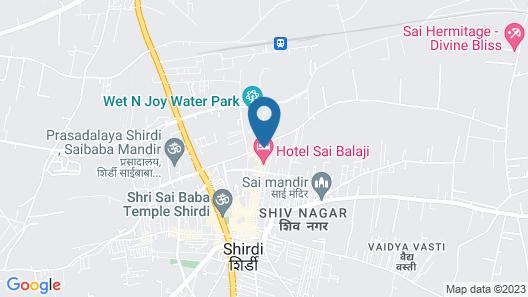 Jivanta Hotel Map