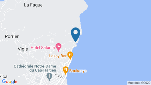 Beau Rivage Hotel Map