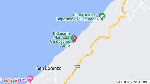Torre Aguamarina Departamentos Map