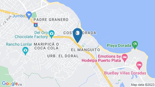 Iberostar Costa Dorada - All Inclusive Map