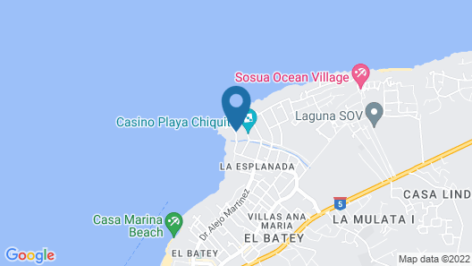 Hotel Coral Blanco Map