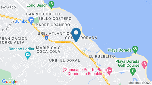 Be Live Collection Marien - All Inclusive Map
