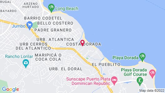 Dream Suites in Costa Dorado, PP Map