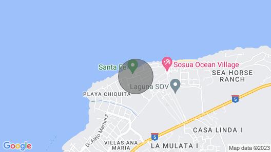 Ocean Village Deluxe Map