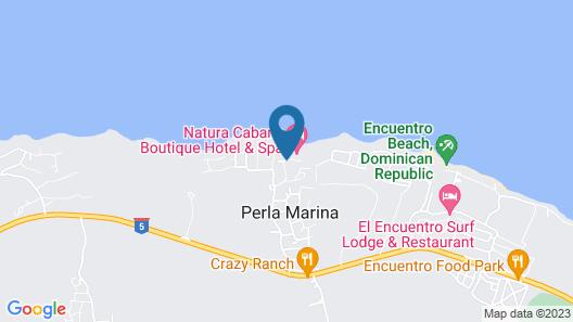 Natura Cabana Boutique Hotel & Spa Map