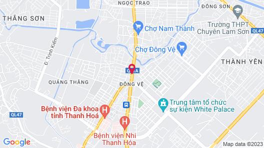 Tai Hoa Motel Map