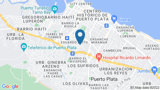 Villa Isabella Map