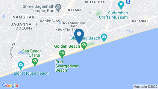 Hotel Pushpa - Berries Group of Hotels Map