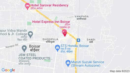 Hotel Express Inn Map