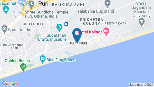 Hotel Holiday Resort Map