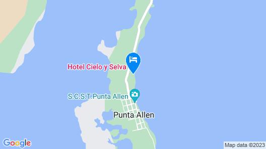 Hotel Cielo y Selva Map