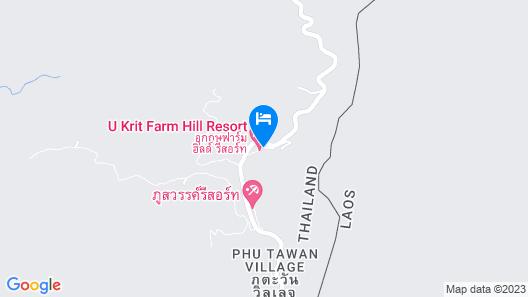 Ukrist Farm Hill Resort Map