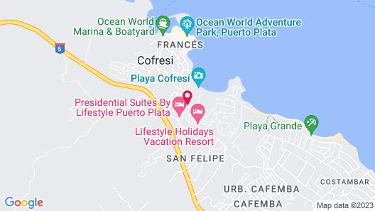 Cofresi Palm Beach & Spa Resort All Inclusive Map