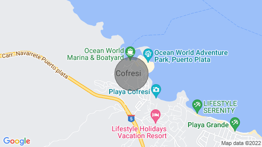 The Tropical at Lifestyle Holidays Vacation Resort Map